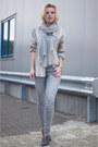 Heather-gray-we-fashion-jeans-heather-gray-zara-shirt