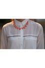 Off-white-bershka-jacket-white-bershka-shirt-ivory-mango-bag