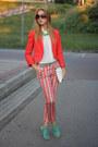 Red-hm-blazer-ivory-bershka-shirt-red-zara-panties-green-zara-heels