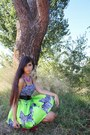 Chartreuse-sammydress-skirt