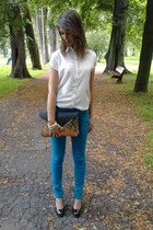 Mohito jeans - Genetic shoes - Mohito purse - Mohito blouse