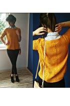 Mohito jeans - Deichmann shoes - Mohito sweater - Mohito purse - Mohito blouse