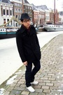 Black-h-m-hat-purple-h-m-sweater-beige-converse-shoes-blue-zara-pants-bl