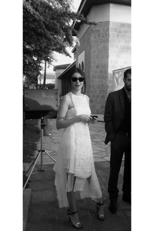NatarGeorgiou dress - Zara shoes - Ray Ban sunglasses