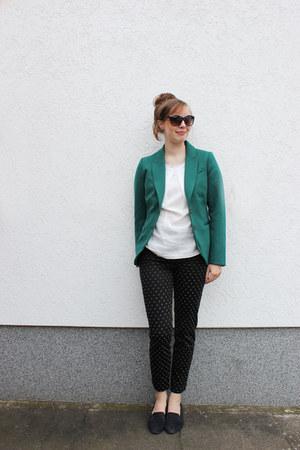H&M blazer - Topshop pants