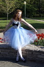 Sky-blue-alyssa-bird-dress-white-heart-print-hot-topic-tights-silver-america