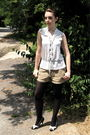White-tj-maxx-blouse-beige-jcrew-shorts-black-target-tights-black-cactus-f