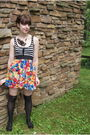 Black-whiteowl-necklace-red-modcloth-dress-black-target-socks-black-urban-
