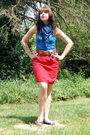 Red-hot-topic-accessories-blue-tj-maxx-scarf-blue-tj-maxx-top-red-forever-