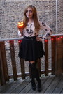 Eggshell-topshop-tights-black-forever-21-skirt-black-express-belt