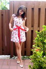 White-modcloth-dress-white-etsy-necklace-white-vintage-from-etsy-shoes