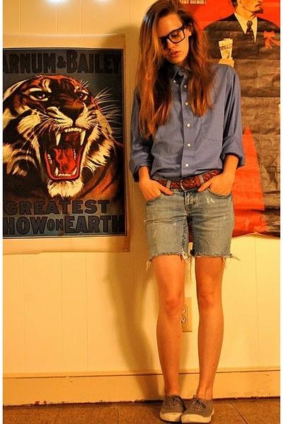 american eagle shoes. blue American Eagle shoes