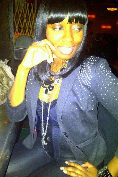 black trendy H&M Trend blazer