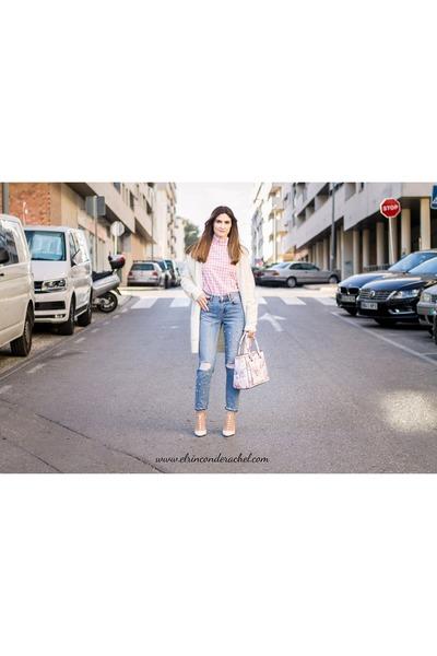 pink shein shirt