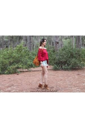 ruby red romwe shirt