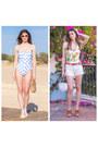 Light-blue-shein-swimwear-white-bananas-shein-swimwear