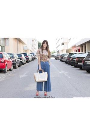 bronze shein t-shirt - bronze golden leather lightinthebox bag