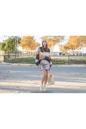 neutral shein sweater