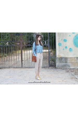 tawny leather lightinthebox bag - camel lightinthebox heels