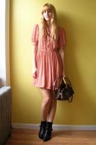 from Beacons Closet dress - Louis Vuitton purse - Dingo brand boots