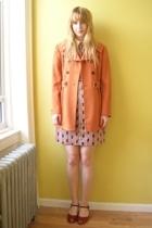 dress - Tahari coat