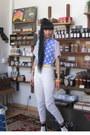 White-tildon-boots-white-vintage-thrifted-jeans