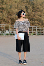 ColorBox bag - Choies sunglasses - ColorBox top