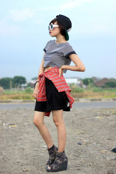 adorableprojectcom shoes - foymallcom hat - sammydress skirt