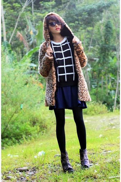 Sheinsidecom coat - chicnova sweatshirt