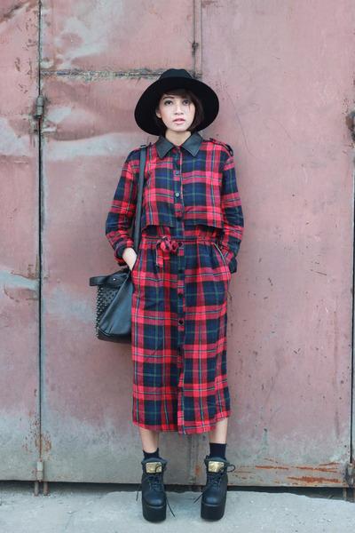 sammydress shoes - red Choies dress - sammydress hat