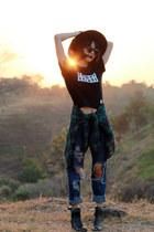 Zalora boots - wwwknooxwearcom t-shirt
