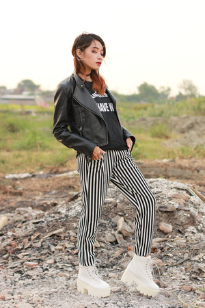 Sheinside jacket - Mogly pants
