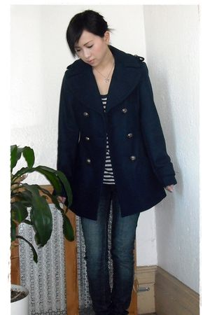 blue Miss Sixty coat