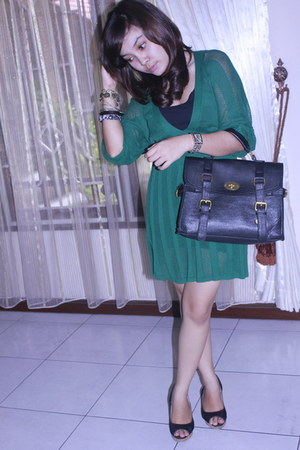 Kamiseta dress - vinci wedges