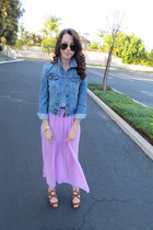 Forever 21 skirt - Urban Outfitters jacket - Nordstrom t-shirt - Zara heels