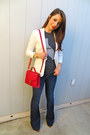 Gap-jeans-h-m-blazer-forever-21-bag-the-home-t-t-shirt-zara-heels