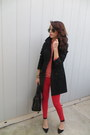 Nordstrom-coat-zara-bag-zara-heels-gap-pants-jcrew-blouse