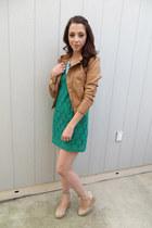Target dress - Target jacket - Aldo wedges - Francescas Collection necklace