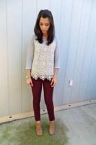 Steve Madden boots - Zara jeans - Forever 21 sweater