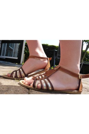 leather Ann Racks sandals