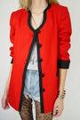 Red-casual-corner-blazer