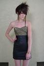 Black-chia-skirt