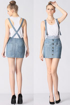 suspender skirt RoKo Fashion skirt