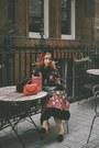 Black-kate-spade-dress-red-kate-spade-bag