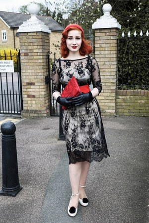 asos dress - office heels