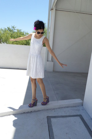off white DIY dress