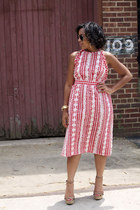 vintage sunglasses - vintage dress Nosilla Vintage dress - Target sandals
