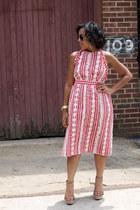vintage sunglasses - vintage dress Nosilla Vintage dress - Target sandals