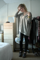 Vero Moda sweater - leggings - Ebay shoes