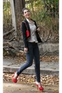 H-m-jeans-sandros-blazer-zara-shirt-carolina-herrera-bag